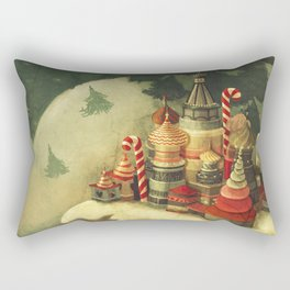 christmas town Rectangular Pillow