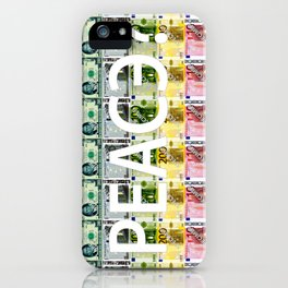 PEACE? iPhone Case