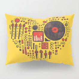 Music in every heartbeat Pillow Sham