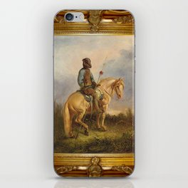 Framed Chief Pachycephalosaurus iPhone Skin