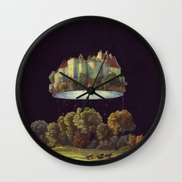 Castle Wall Clock
