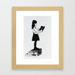 Knowledge is power Framed Art Print