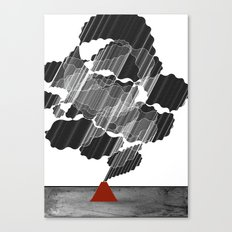Little Red Volcano Canvas Print