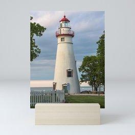 Marblehead Lighthouse at Lake Erie Sandusky area Ohio Mini Art Print