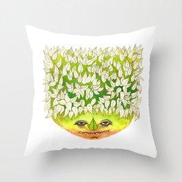 Majestic Leaf Throw Pillow