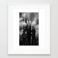 coven Framed Art Prints featuring coven by tadzioautumn