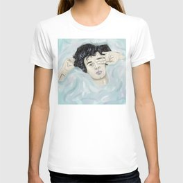healy in water T-shirt