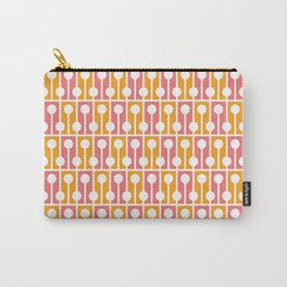 Geometric Pattern 192 (pink orange) Carry-All Pouch