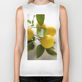 Branch of Lemons Biker Tank