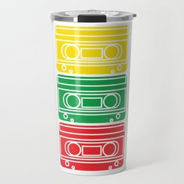 Audio Tape Cassette Recorder. Made in the 80s tape. Still Repeats on Repeat! Outer Space Run Travel Mug