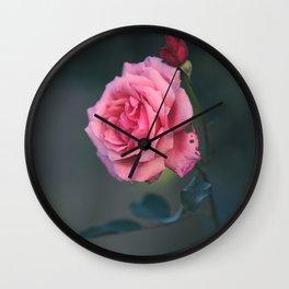 Rose - Pink Beauty Wall Clock