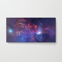 Center of the Milky Way Galaxy IV - Space Art Metal Print