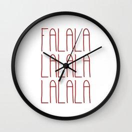 Falalalalalalalala Wall Clock