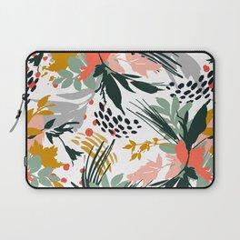 Botanical brush strokes I Laptop Sleeve