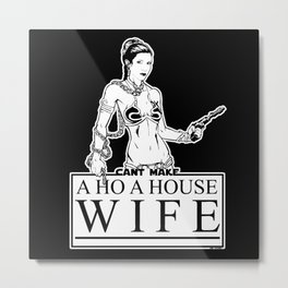 Return of the Housewife Metal Print
