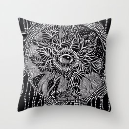 Powers of intention Throw Pillow