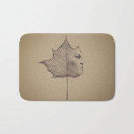 Autumn leaf series Bath Mat