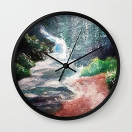 Quick Stream Wall Clock
