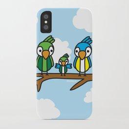 Proud Parrot iPhone Case