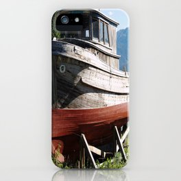 Beached Boat iPhone Case