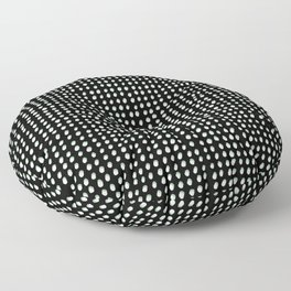 Dots (Shadowed) - White x Sage Floor Pillow