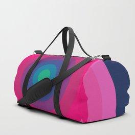 Blue/Pink Bullseye Duffle Bag