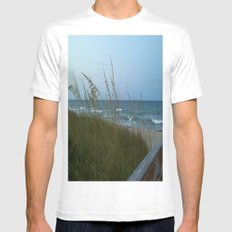 seabreeze MEDIUM White Mens Fitted Tee