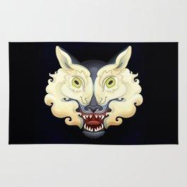Wolf Lamb Rug