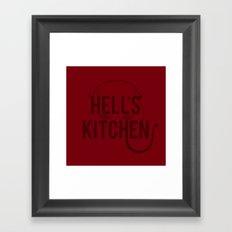 Devil of Hell's Kitchen - Variant Framed Art Print