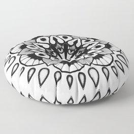black//white Floor Pillow