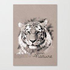 Tiger (BornInNature) Canvas Print