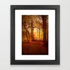Quiet Space. Framed Art Print