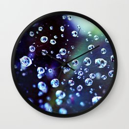 Stars in Space Wall Clock