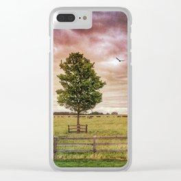 Magical Season Clear iPhone Case