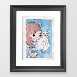 witch and the killers Framed Art Print
