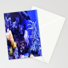 Sea creatures Stationery Cards