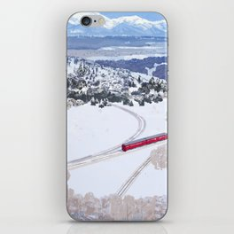 One winter day iPhone Skin