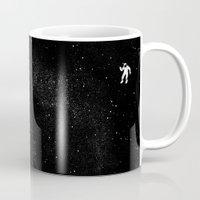 gravity Mugs featuring Gravity by Tobe Fonseca