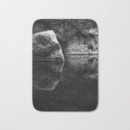 Boulder Reflection on Water Bath Mat