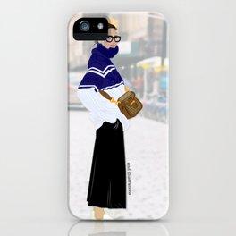 Jenna - Streetstyle Fan Art iPhone Case