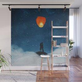 Love Wish Upon A Lantern Wall Mural
