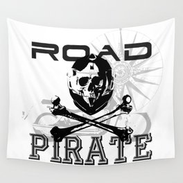 Road Pirates Wall Tapestry