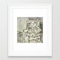 sleeping beauty Framed Art Prints featuring sleeping beauty by Madmi