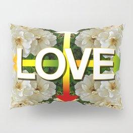 LOVE by JC Logan Pillow Sham
