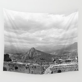 Explore The Past Wall Tapestry