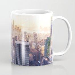 New York City Watercolor Skyline Coffee Mug