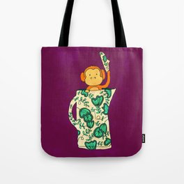 Dinnerware sets - Monkey in a jug Tote Bag