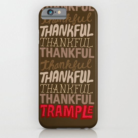 Thanksgiving, Black Friday iPhone & iPod Case