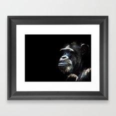 The Chimp Framed Art Print