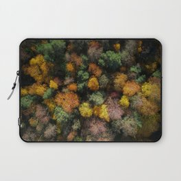Autumn Forest - Aerial Photography Laptop Sleeve